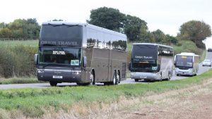 8201VC OR10NTX OR10NTC convoy into Showbus 2018